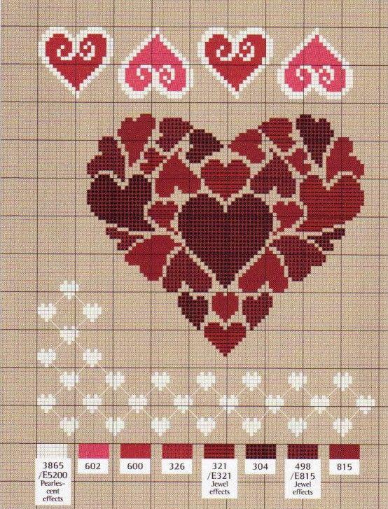Вышивки на день святого валентина 71